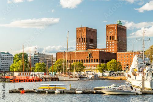 Photo Oslo City Hall in Pipervika neighbourhood