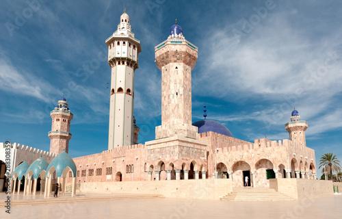 Obraz na plátně Senegal, la Moschea di Touba