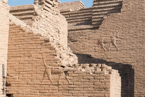 Stampa su Tela ancient Babylon, Hillah, Iraq