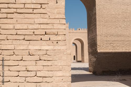 Fotomural ancient Babylon, Hillah, Iraq