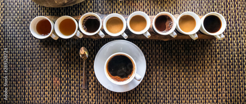 Fotografia Luwak Coffee & Tea testing, Bali