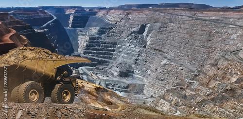 Photo Gold Mine in Kalgoorlie, Western Australia