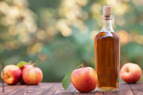 Fotografie, Tablou apple cider or vinegar