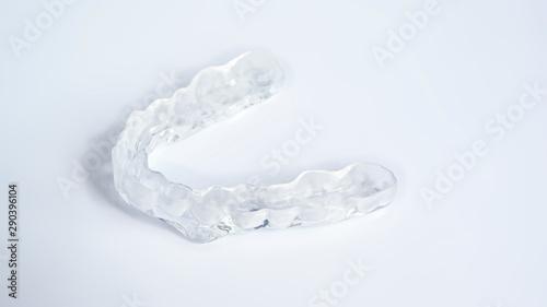 Fotografia Zahnschiene bei nächtlichem Knirschen
