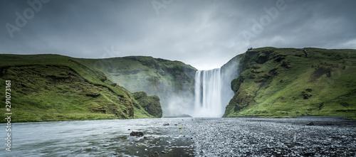Fotografie, Obraz Skogafoss waterfall in Winter, Iceland