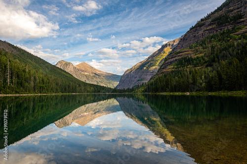 Slika na platnu Avalanche Lake, Glacier National Park, Montana