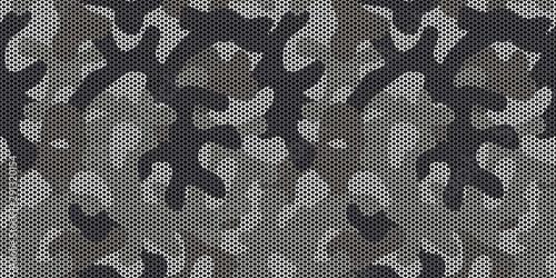 Fotografia, Obraz Seamless gray urban camo pattern vector