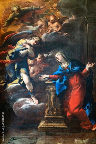 Obraz na plátně Massa Marittima, Tuscany: the medieval cathedral, interior