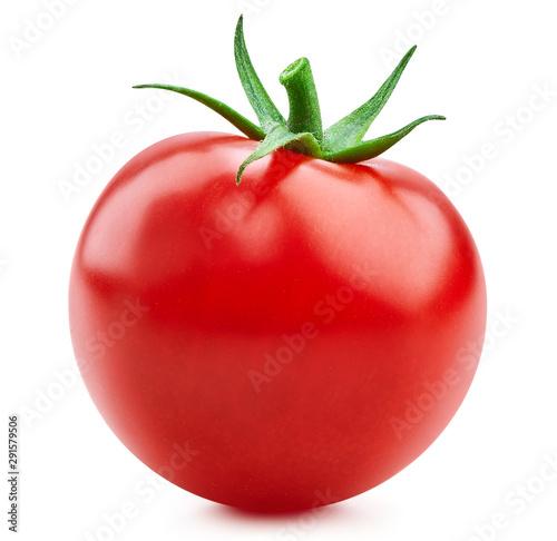 Fotografie, Obraz Tomato vegetables isolated on white