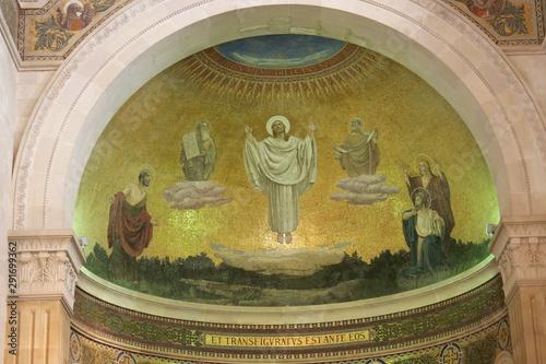 Basilica of the Transfiguration, Mount Tabor, Galilee, Israel Tapéta, Fotótapéta