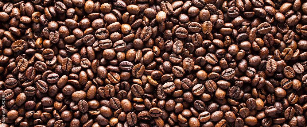 Fotografie, Obraz Coffee beans background