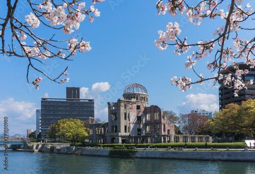 Foto A-Bomb Dome at Hiroshima, Japan