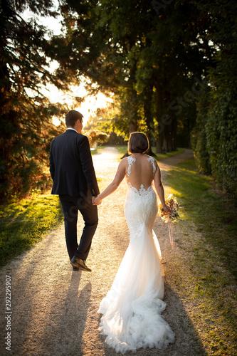 Brautpaar Fototapete
