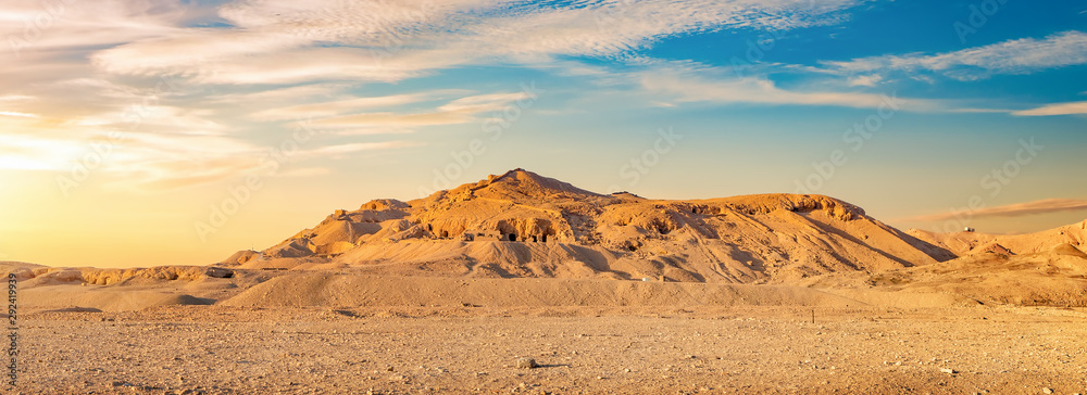 View on desert