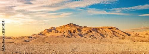 Fotografie, Obraz View on desert