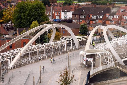 Платно Suburban areas view in North London, Wembley, London