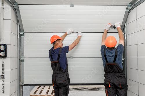 Fotografia Lifting gates of the garage.