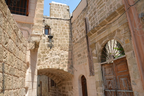 Photo Rhodes, the old town. Greece.