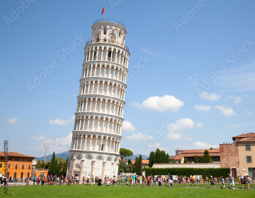 Canvas Print Leaning tower of Pisa