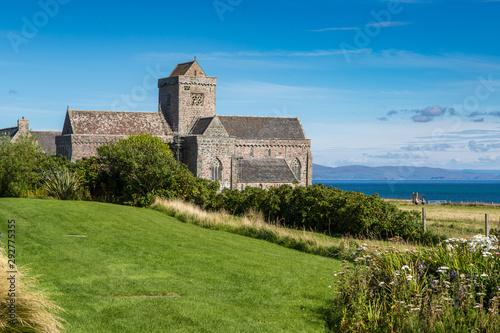 Fototapeta Iona Abbey on the Isle of Iona, Scotland