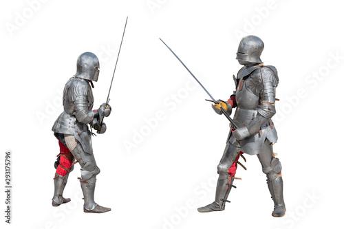 Cuadros en Lienzo Knights in armor