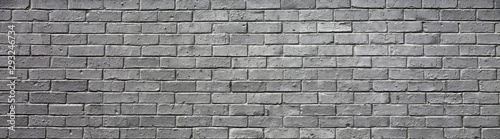 Canvas Print brick wall may used as background