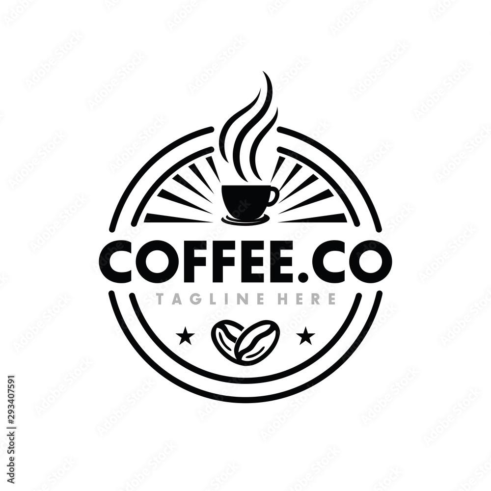 Coffee, Coffe Shop, Cafe Logo Design Inspiration Vector <span>plik: #293407591   autor: winner creative</span>