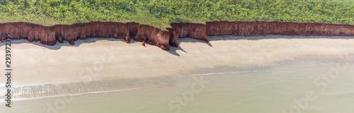 Foto Coastal cliffs near Finnis River Mouth, Darwin, Northern Territory, Australia