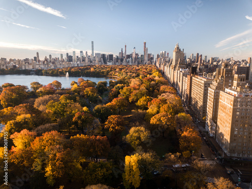 Canvas Central Park Fall