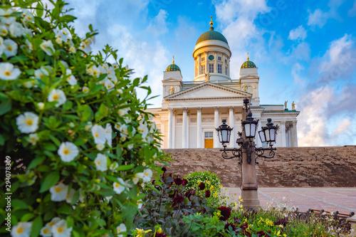Photo Panorama of Helsinki in summer