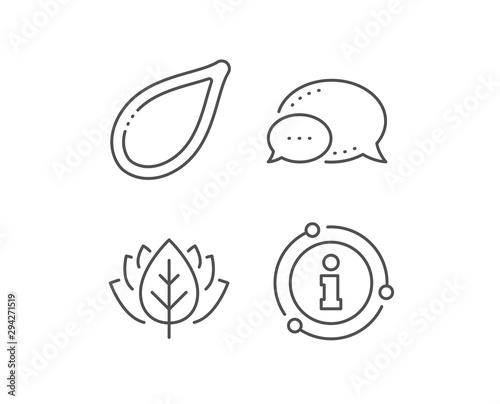 Photo Pumpkin seed line icon
