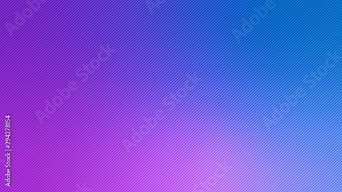 Blurred background. Diagonal stripe pattern. Abstract purple and blue gradient design. Line texture background. Landing page blurred cover. Diagonal strips pattern. Vector