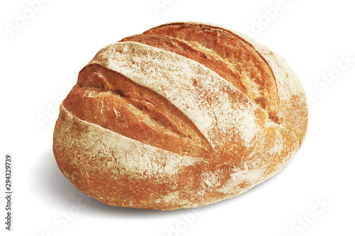 Stampa su Tela Loaf of Rye Bread