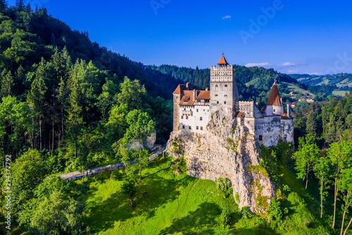 Brasov,  Romania. Bran castle.
