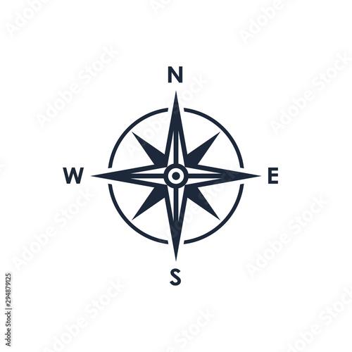 Obraz na plátně Compass icon
