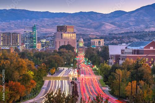 Fotografering Boise, Idaho, USA Downtown