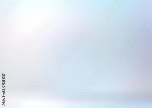 Fotografia Light blue pearl gleaming 3d background