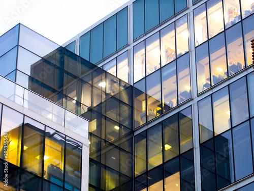 Canvas London office building skyscraper, working & meeting