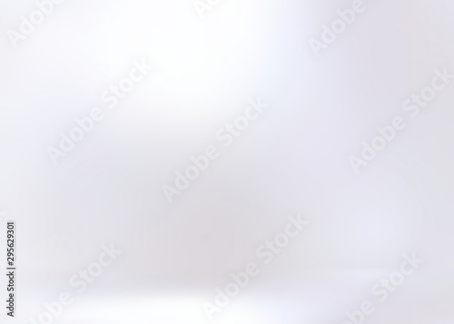 Stampa su Tela Pearl empty wall 3d background