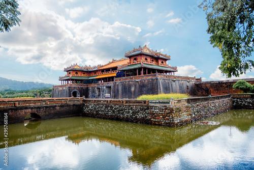 Dai Noi Palace (Complex of Hue Monuments)in vietnam, Unesco World Heritage Fototapeta