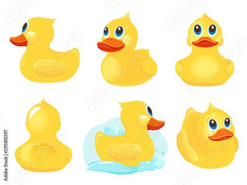 Carta da parati Rubber duck