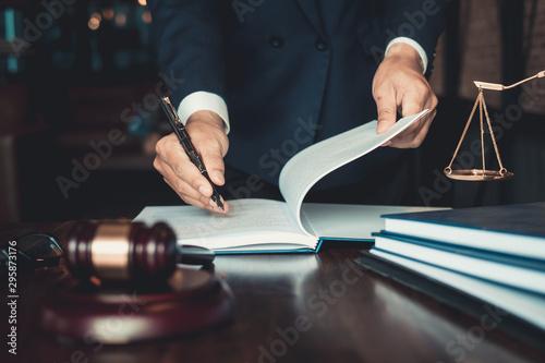 Fotografia Justice and law concept