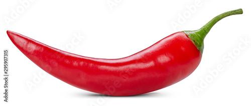 Fotografija Chili pepper isolated on a white background