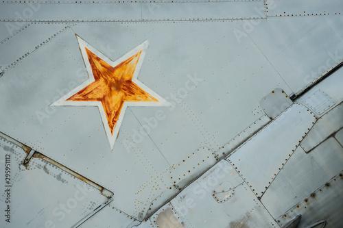 Fototapeta Detail of a tactical jetplane.