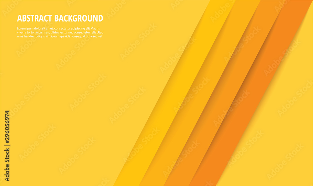 abstrakcjonistyczna nowożytna żółtych linii tła wektorowa ilustracja EPS10 <span>plik: #296056974 | autor: santima.studio</span>