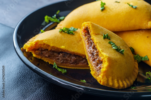 Jamaican Beef Turnover Fototapet