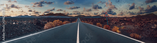 Photo Image related to unexplored road journeys and adventures