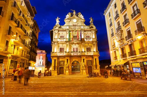 Fotografia Pamplona City Council Town Hall