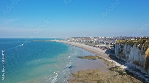 Fotografiet Falaises blanches de Normandie