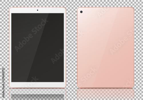 Gold rose tablet pc. #296469721